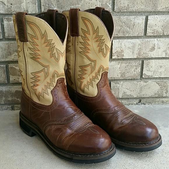 d5a81de5d03 Justin Stampede original workboots men's leather